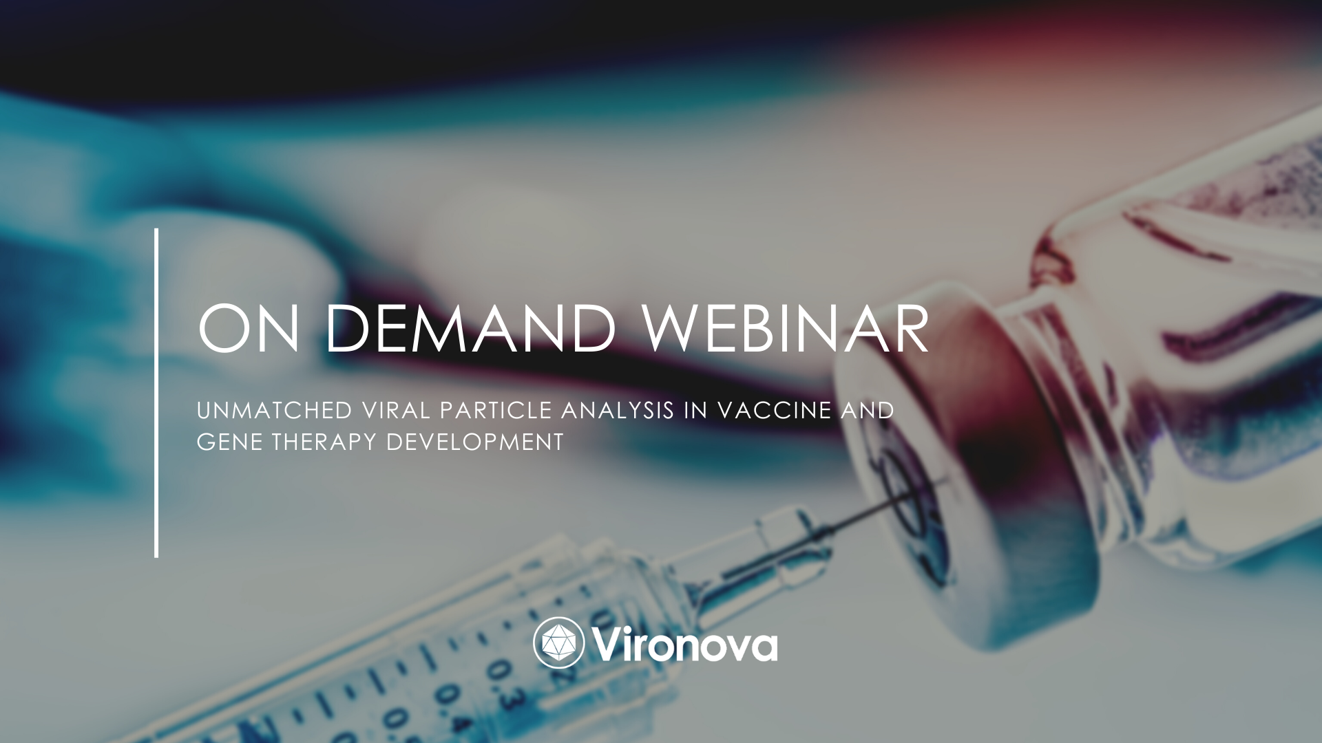 Vironova on demand webinar vaccines and gene therapy