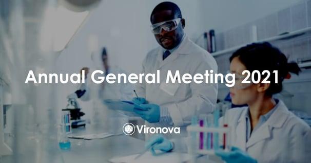 Annual General Meeting 2021 - Vironova AB