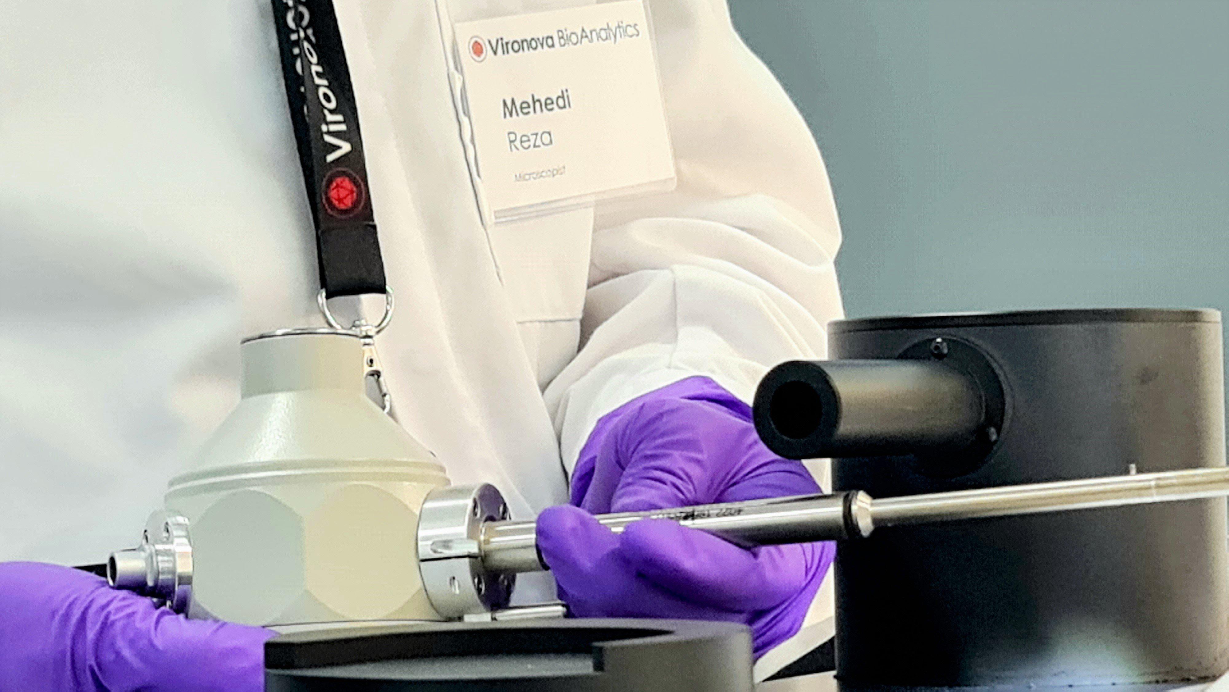 Mehedi-in-GMP-certified-Vironova-Lab-maintaiance